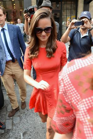 Pippa Middleton - Heading out for Lunch in New York City on September 2, 2012