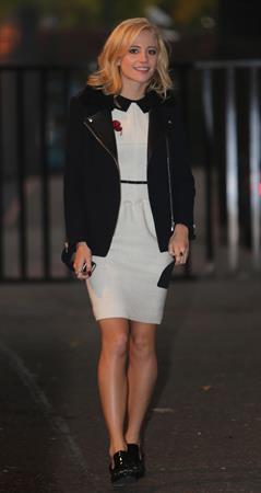 Pixie Lott outside ITV Studios in London 10/24/12