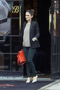 Rachel Bilson  Leaving her hotel in New York City - October 3, 2012