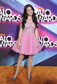 Ryan Newman TeenNick HALO awards in Hollywood 11/17/12