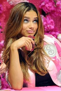 Adriana Lima at Victoria's Secret Beauty Bombshell Fragrance Collection Launch on September 21, 2010