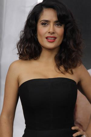 Salma Hayek at the  Here Comes The Boom  Premiere in New York 9/10/2012