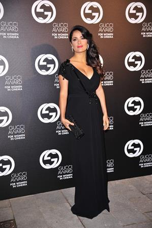 Salma Hayek - Gucci Award for Women in Cinema in Venice August 31, 2012