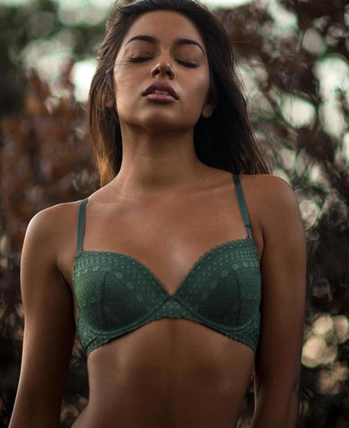 Krislian Rodriguez in lingerie
