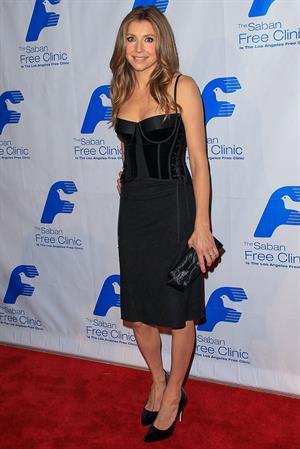 Sarah Chalke - Saban Free Clinic's Gala 11/19/12