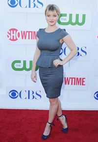 Sarah Jones arrives at the 2012 TCA Summer Tour - CBS, Showtime And The CW Party at 9900 Wilshire Blvd on July 29, 2012 in Beverly Hills, California