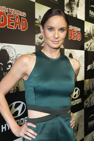 Sarah Wayne Callies - The Walking Dead 100th Issue event at Comic-Con (13 Jul 2012)