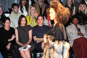 Sasha Alexander Chadwick Bell Fashion Show in New York 09/02/12