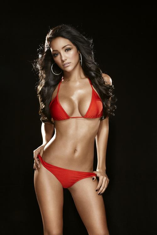 Melanie Iglesias in a bikini