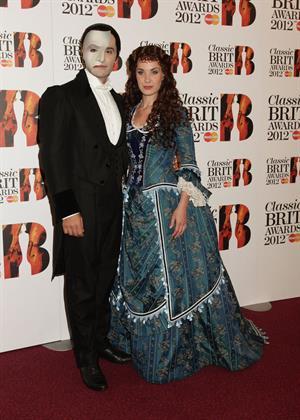Sierra Boggess 2012 Classic Brit Awards February 10, 2012