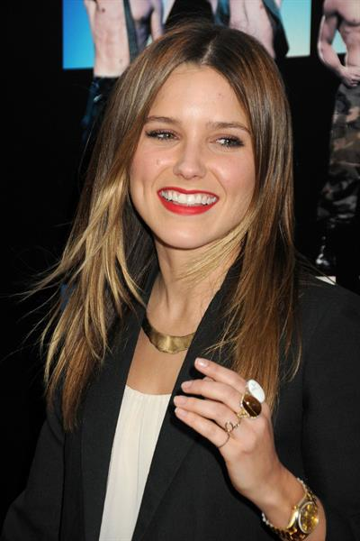 Sophia Bush - Magic Mike premiere and Closing Night Gala at Los Angeles Film Festival June 24, 2012