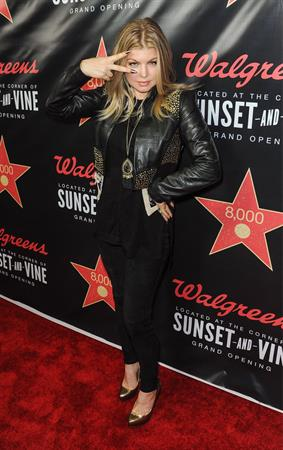 Stacy Ferguson Opening of Walgreens Flagship Store, Los Angeles, November 30, 2012