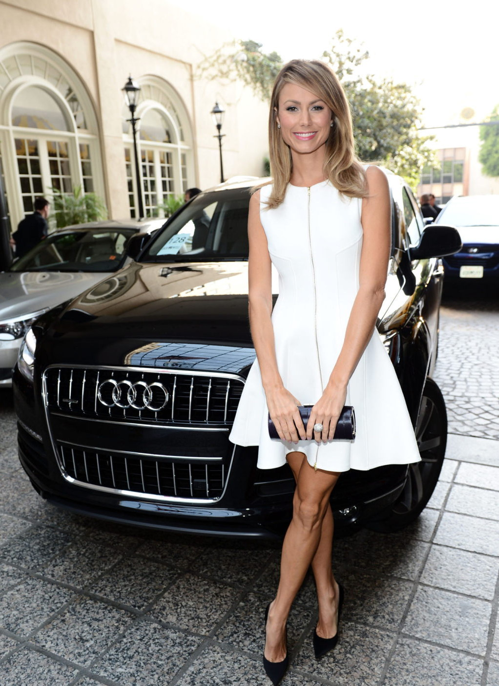 Stacy Keibler Variety's 4th Annual Power of Women event in Beverly Hills - October 5, 2012