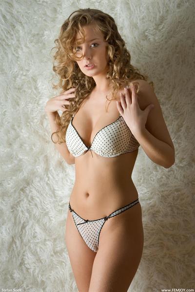 Kinga in a bikini