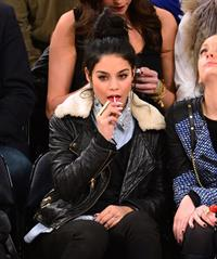 Vanessa Hudgens at Dallas Mavericks vs New York Knicks Game 9/11/12