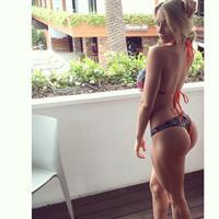 Lindsey Pelas in a bikini - ass