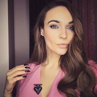 Alena Vodonaeva taking a selfie