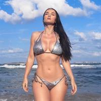Irina Olsen in a bikini