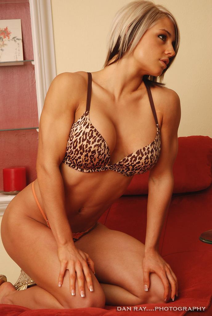 Celeste Beryl Bonin in lingerie