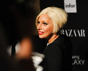 Lady Gaga at the HARPERS BAZAAR Celebrate ICONS September 6, 2014