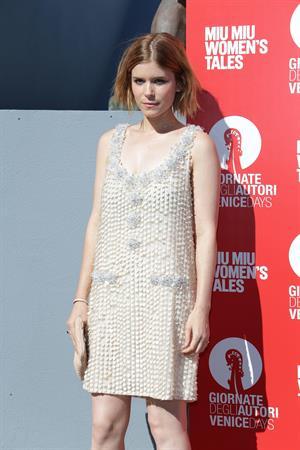 Dakota Fanning, Kirsten Dunst, Kate Mara, Felicity Jones at Miu Miu Womens Tales premiere @ 71st Venice Film Festival August 28