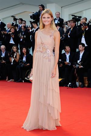 Constance Jablonski at Birdman premiere opening the 71st International Venice Film Festival August 27, 2014