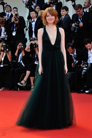 Emma Stone @ Birdman premiere opening the 71st International Venice Film Festival August 27, 2014