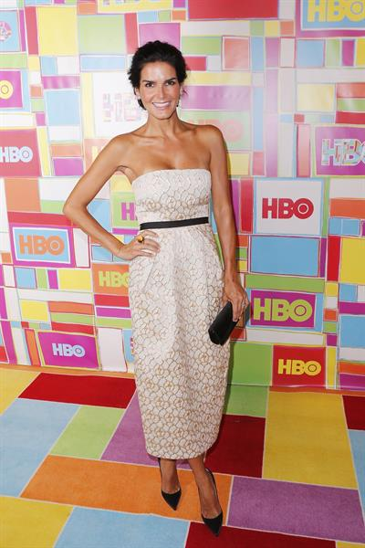 Angie Harmon at HBO's Official 2014 Emmy After Party August 25, 2014