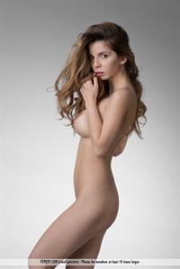 Busty Babe Malena nude for Femjoy