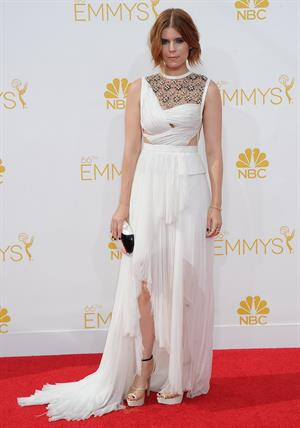 Kate Mara at the 66th annual Primetime Emmy Awards, arrivals August 25, 2014