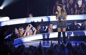 Ariana Grande at the MTV Video Music Awards Aug. 24, 2014