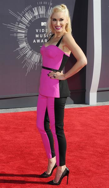Gwen Stefani at the 2014 MTV Video Music Awards, Inglewood August 24, 2014