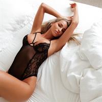 Madison Edwards in lingerie