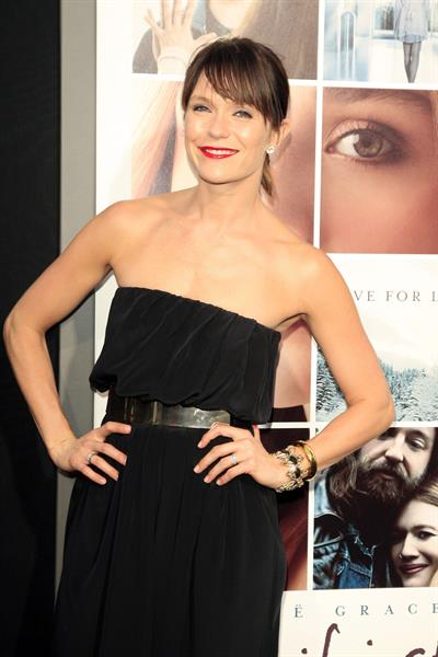 Katie Aselton If I Stay Los Angeles premiere August 20, 2014