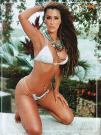 Ninel Conde in a bikini