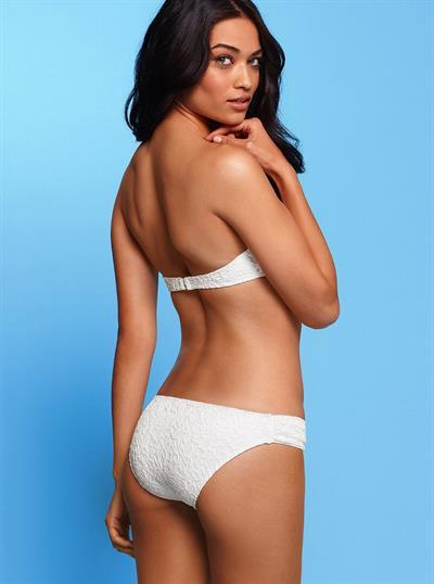 Shanina Shaik in lingerie - ass