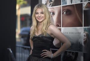 Chloe Grace Moretz at Los Angeles premiere of If I Stay August 20, 2014