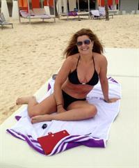 Suzanne in a bikini