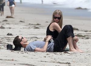 Nicky Hilton on the beach in Malibu June 9, 2012