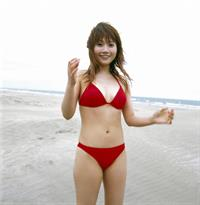 Natsumi Abe in a bikini