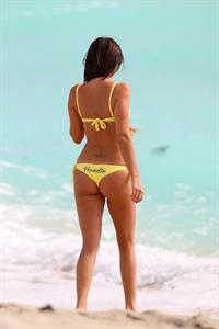 Claudia Romani in a bikini - ass