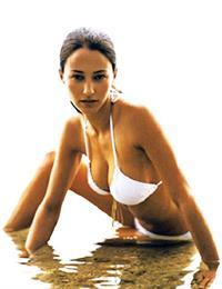 Brooke Berry in a bikini