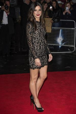 Sandra Bullock at 'Gravity' European premiere 7