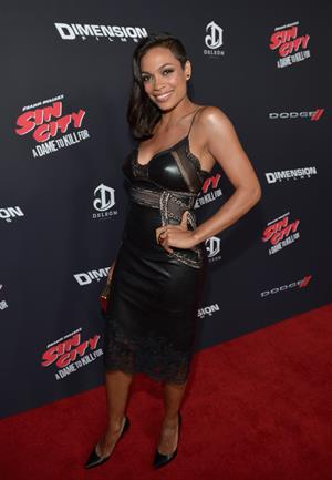 Rosario Dawson Sin City: A Dame to Kill For Los Angeles premiere August