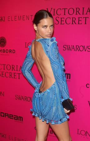 Adriana Lima Victorias Secret Fashion Show after party New York 10.11.11