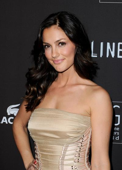 Minka Kelly 12th Annual Costume Designers Guild Awards on February 25, 2010