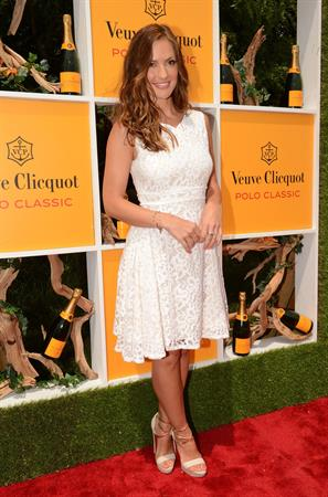 Minka Kelly 5th annual Veuve Clicquot Polo Classic in Jersey City 02/06/2012