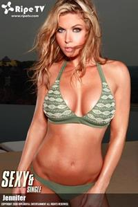 Jennifer England in a bikini