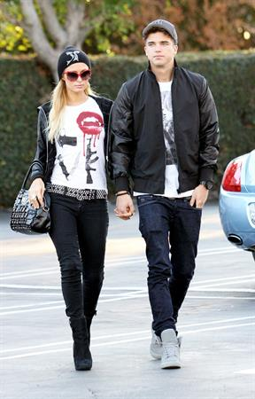Paris Hilton Out and about in LA November 19, 2012