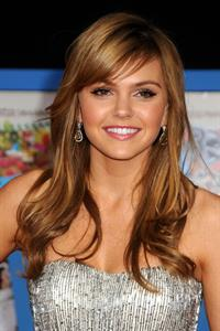 Aimee Teegarden at the Los Angeles premiere of Disney's Prom on April 21, 2011